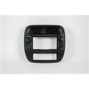 1995-2011 Ford Ranger Radio Climate Dash Trim Bezel with Vents and 4WD Switch