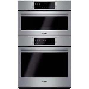 Bosch Benchmark Series 30 Inch 4.6 cu. ft. SS Combination Speed Oven HBLP752UC