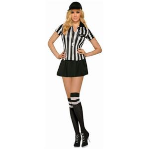 Sexy Referee Adult Costume Standard Size 8-14