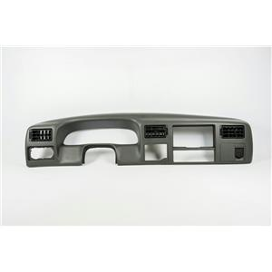 99-2004 Ford F250 F350 Super Duty Surround Dash Trim Bezel w/ Vents & 12V Outlet