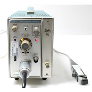 Tektronix AM 503 Current Probe Analyzer with TM501 Power Module & Probe