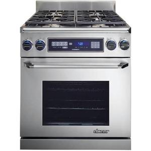"Dacor Renaissance ER30DSRSCHNGH 30"" 4 Sealed Burners Pro-Style Dual Fuel Range"