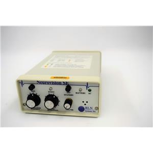 Used: RLN System NV004 Neurovision SE Unit Surgical Nerve Locator/Stimulation