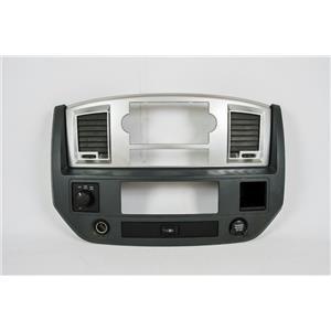 2006-08 Dodge Ram 1500 Radio Climate Dash Center Bezel 4WD Rear Window Switch