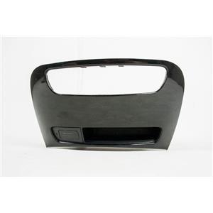 2012 Hyundai Genesis Center Dash Radio Bezel For CD Player w/ Open Storage
