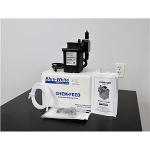 Blue White C-1500N Chem-Feed Injector Diaphragm Pump Single Head 9.5 GPH 125 PSI