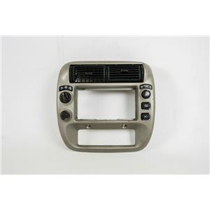 1995-2001 Ford Explorer Mountaineer Radio Climate Dash Trim Bezel w/ 4WD Switch