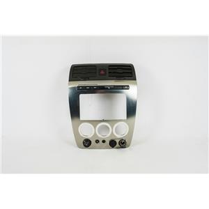 2006-2010 Hummer H3 Center Dash Radio Climate Bezel 4X4 Control, Vents, Two 12V