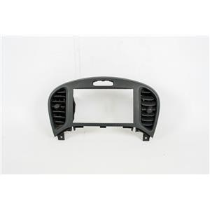 2011-2014 Nissan Juke Center Dash Radio Bezel W/ 2 Vents, Plastic