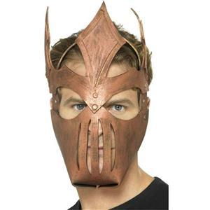Smiffy's EVA Foam Bronze Roman Warrior Pointy Mask One Size Fits Most 21996