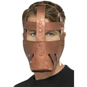 Smiffy's EVA Foam Bronze Roman Warrior Mask One Size Fits Most