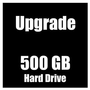 Hard Drive Upgrade 500GB