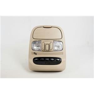 2004-10 Toyota Sienna Overhead Console w/ Display, Homelink, Sunroof Switch, MIC
