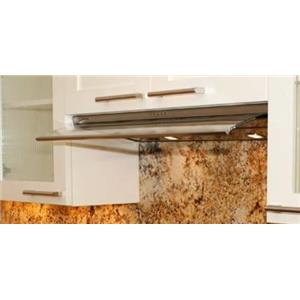 "Faber Integrated Collection VELV36SS 36"" Velvet Under-Cabinet Slide-Out Hood"