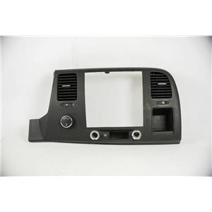 07-2013 Silverado Sierra 1500 Radio Climate Dash Bezel 4wd Heated Washer Switch