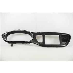 2013 Dodge Dart Surround Dash Trim Bezel W/ Vents and Silver Trim