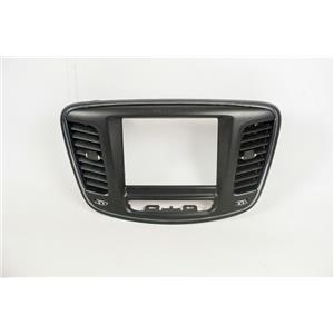 2015-2016 Chrysler 200 Center Dash Radio Center RA3/RA4 8.4 Display Bezel Vents
