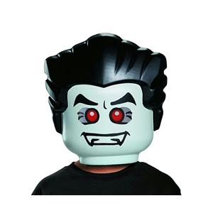 LEGO Vampire Plastic Costume Mask Child Size