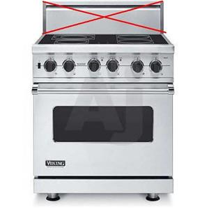 Viking Professional Series 30 in 4 Elements Pro-Style Electric Range VESC5304BSS