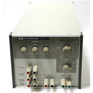 Fluke 752A Reference Divider 10:1 / Balance / 100:1 Voltage