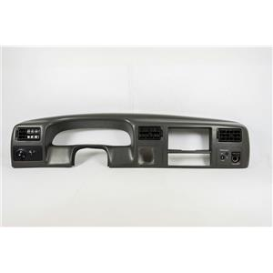 1999-2004 Ford F250 F350 Dash Trim Bezel for 4WD w/ Black Vents & Light Switches
