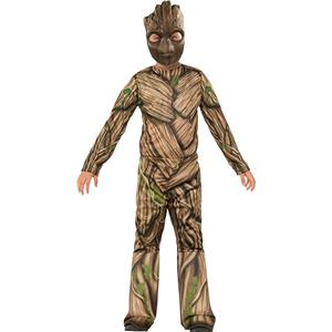 Guardians of The Galaxy Vol. 2 Groot Child Costume Medium 8-10