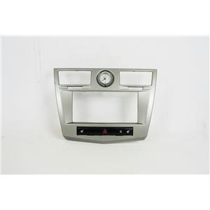 07-10 Chrysler Sebring Radio Climate Dash Trim Bezel w/ Clock & Heated Seats