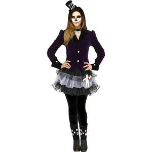 Fun World Women's Voodoo Dolly Adult Costume M/L 10-14