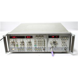 HP/Agilent 8350A Sweep Oscillator w HP 83522A RF Plug-In 10 MHz - 2.4 GHz