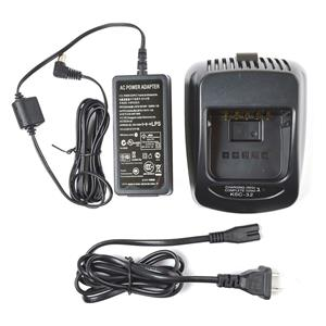 Kenwood KSC-32 Single-Unit Tri-Chemistry Rapid Rate Charger w/ AC Adapter