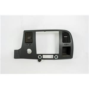 2007-2013 Silverado Sierra Radio Climate Dash Trim Bezel with Vents Open Storage