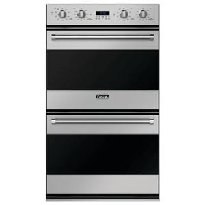 """Viking 30"""" 4.3 cu. ft. Double TruConvec Electric Wall Oven Stainless RVDOE330SS"""
