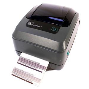 Zebra GX430T GX43-100310-000 Thermal Barcode Label Printer USB Parallel 300DPI