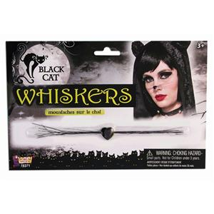 Sexy Black Cat Whiskers Costume Accessory 78371