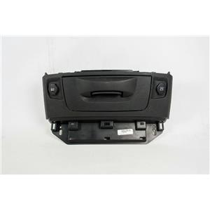 13-17 Dodge Ram 1500 2500 3500 Dash Storage Compartment Bezel Drawer w/ Two 12V