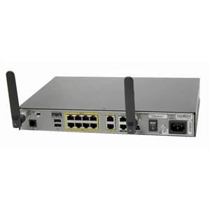 Cisco 1811W Cisco1811W-AG-B/K9 8-Port 10/100 2-Port 10/100 Wireless Router