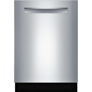 "BOSCH 500 Series 24"" 44-Decibel Built-in Dishwasher SS SHP865WF5N Images"