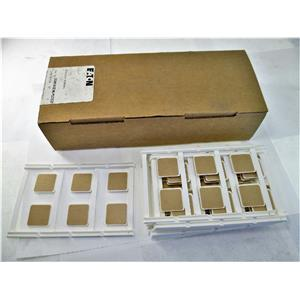 Eaton XBMUCEMLP22X22 Marker Card Equipment Markers Box Of 10 New
