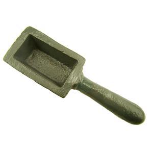 20 oz Gold Bar Loaf Cast Iron Ingot Mold Scrap Silver 10 oz - Copper  Aluminum