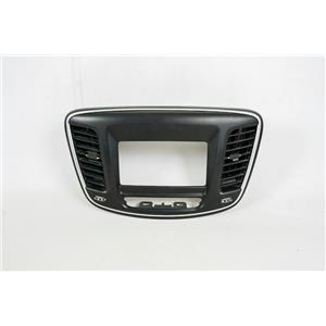 2015-2016 Chrysler 200 Center Dash Radio Center RA2 Bezel with Vents