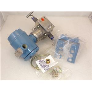 Rosemount Coplanar 3051S Pressure Transmitter  Hart Protocol C305 0305 Manifold