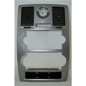 2005-2007 Chrysler 300 Radio Climate Dash Trim Bezel for Manual Climate Controls