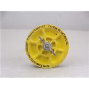 "Cherne 270296 Gripper Mechanical 4"" Pipe Test Plug"