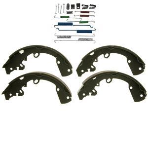Rear brake shoe set w/ spring kit fitsToyota Yaris Prius 2006-2013