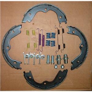 Parking brake shoe Nissan with spring kit ( Fits: Nissan & Infiniti 2002-2016 )