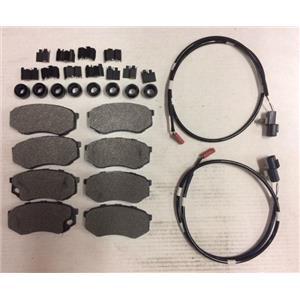 Mitsubishi Fuso FE brake pad kit 639 1995-2004 Pads Hardware  wear sensors