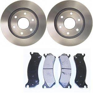 Ceramic Brake pad rotor set Fits:2012-2016 Hyundai Accent  Kia Rio FRONT