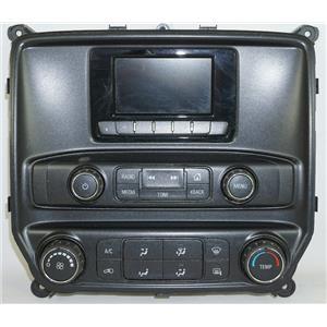 2014-2016 Chevrolet Silverado Center Dash Radio Climate Bezel w/ Mirror Defrost