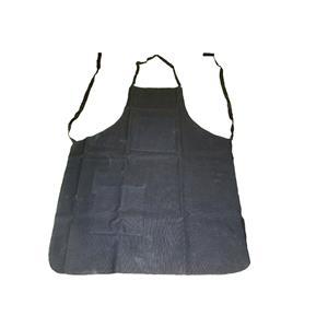 """Black Cotton Canvas Apron 25"""" X 34"""" - 2 Pockets - Woodworking, Garage, Shop"""
