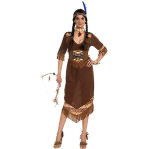 Princess Little Deer Adult Native American Indian Costume